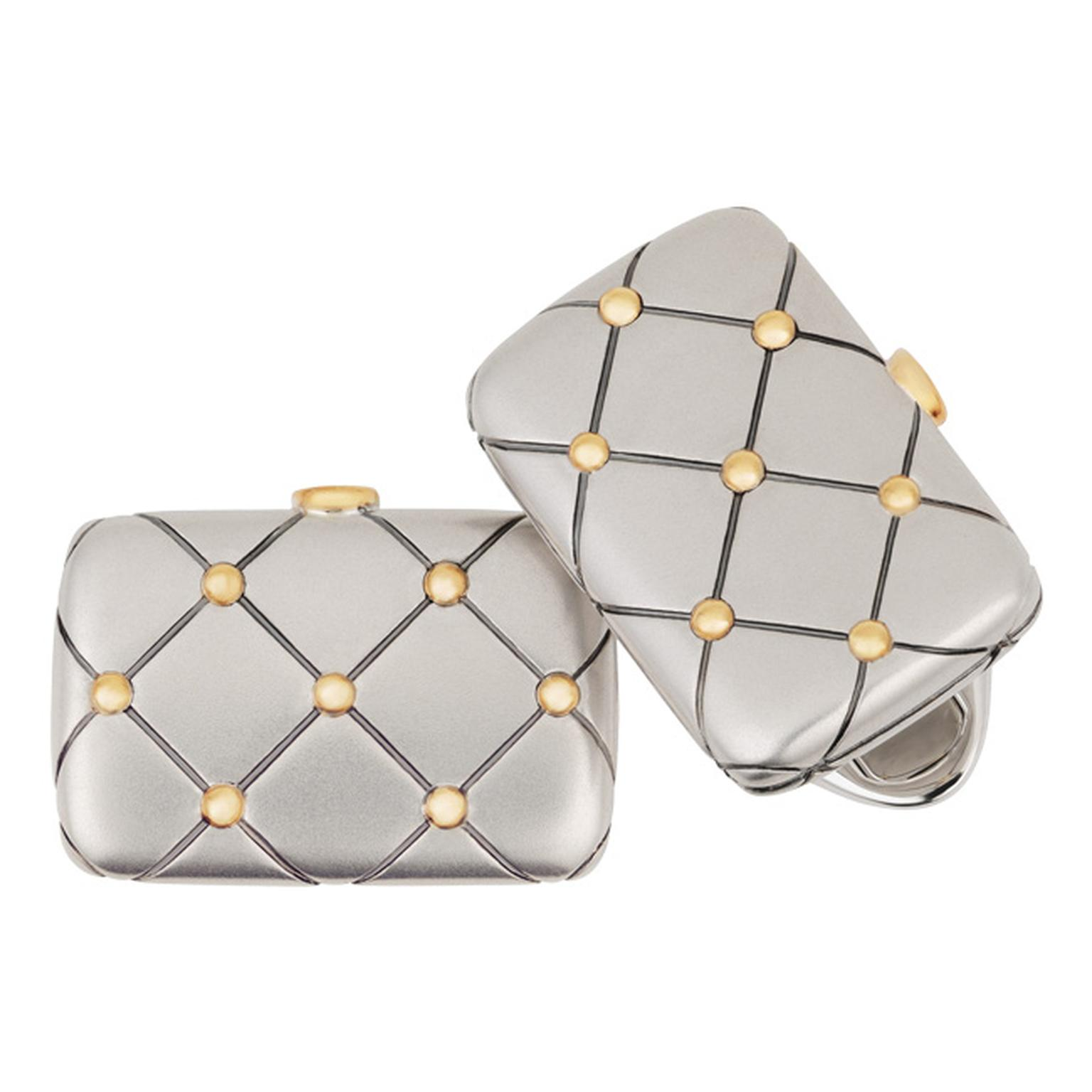 Fabergé Anatoly quilted cufflinks_20130926_Main