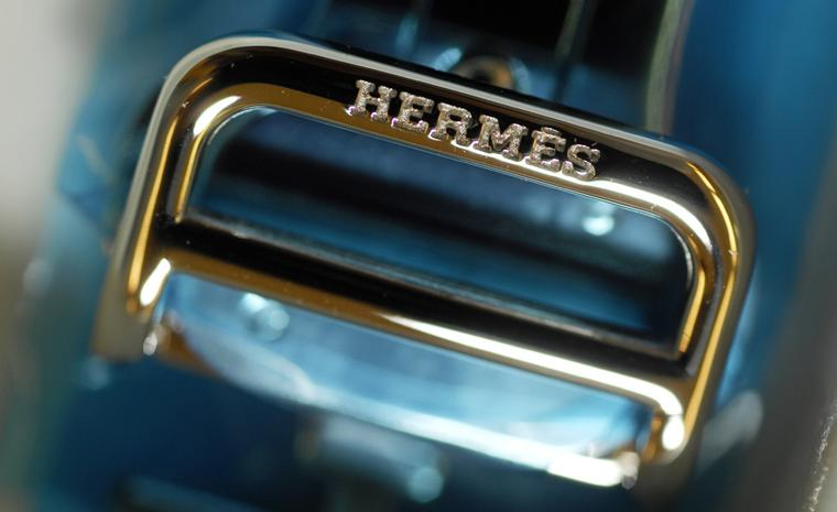 The art of the leather strap by Hermès