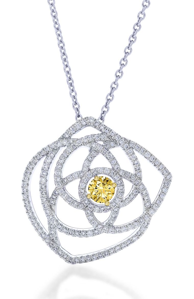 De-Beers-Large_Lotus_Pendant_with_centre_yellow_diamond