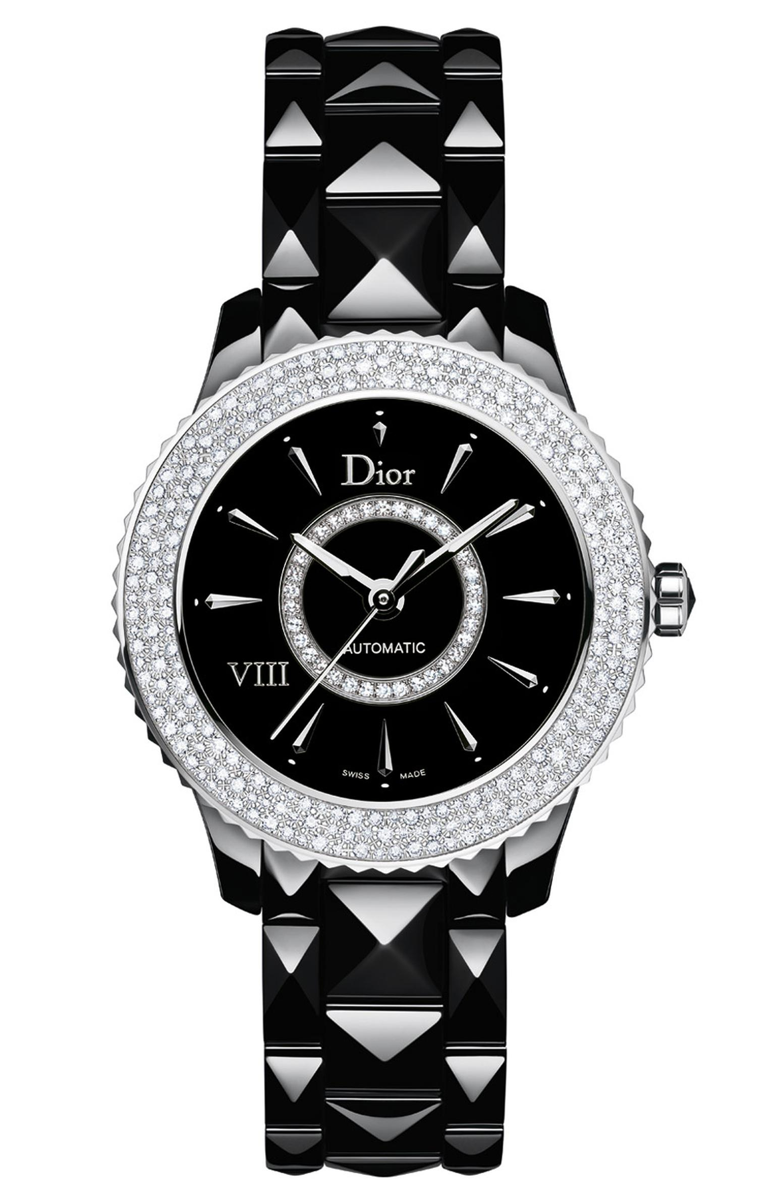 DIOR-VIII-BLACK-AUTO-DIAMOND-SNOW-SET-BEZEL-38mm