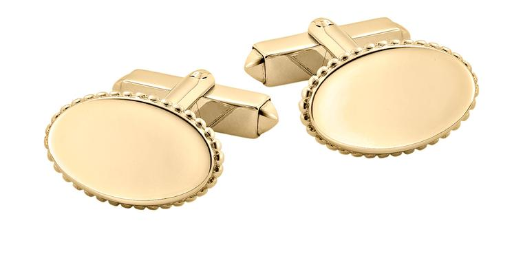 Mappin & Webb Plain Oval Yellow Gold Cufflinks_20131011_Zoom