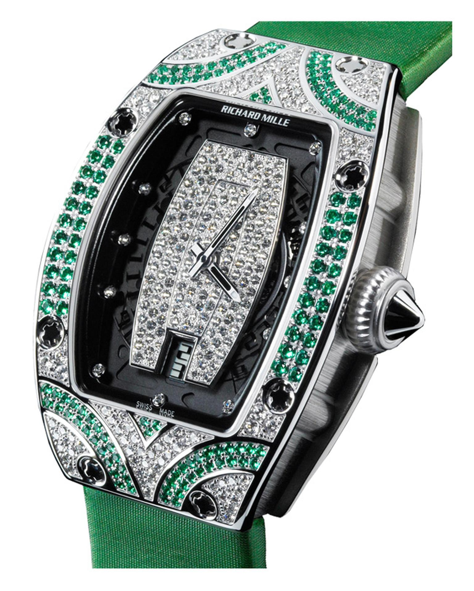 Richard Mille 007 emeralds and diamonds_20131017_Main