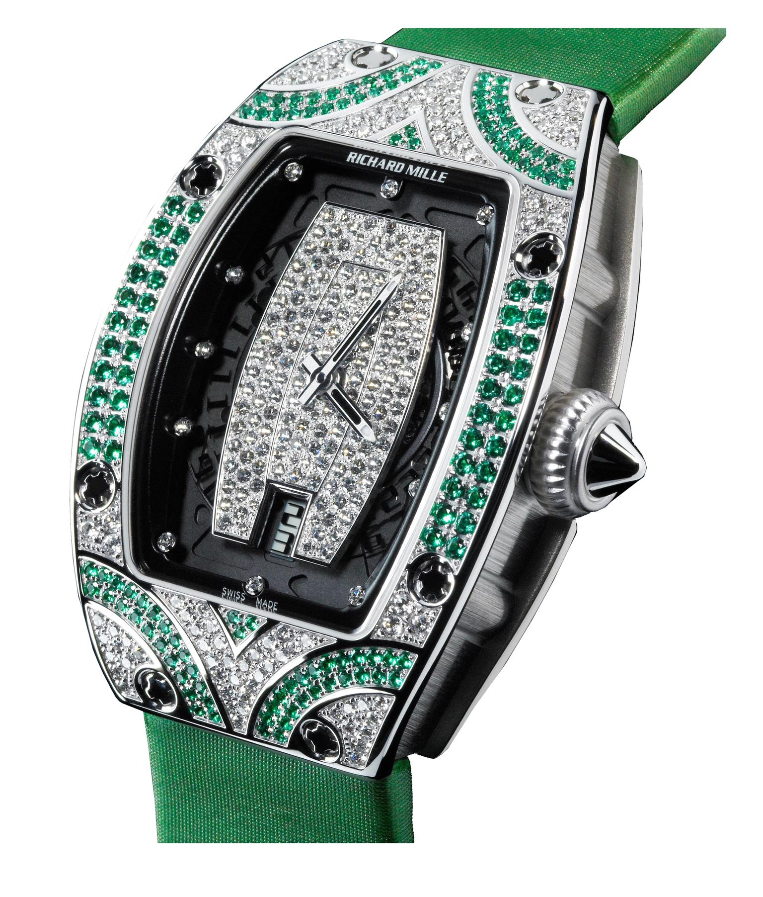 Richard Mille 007 emeralds and diamonds_20131017_Zoom