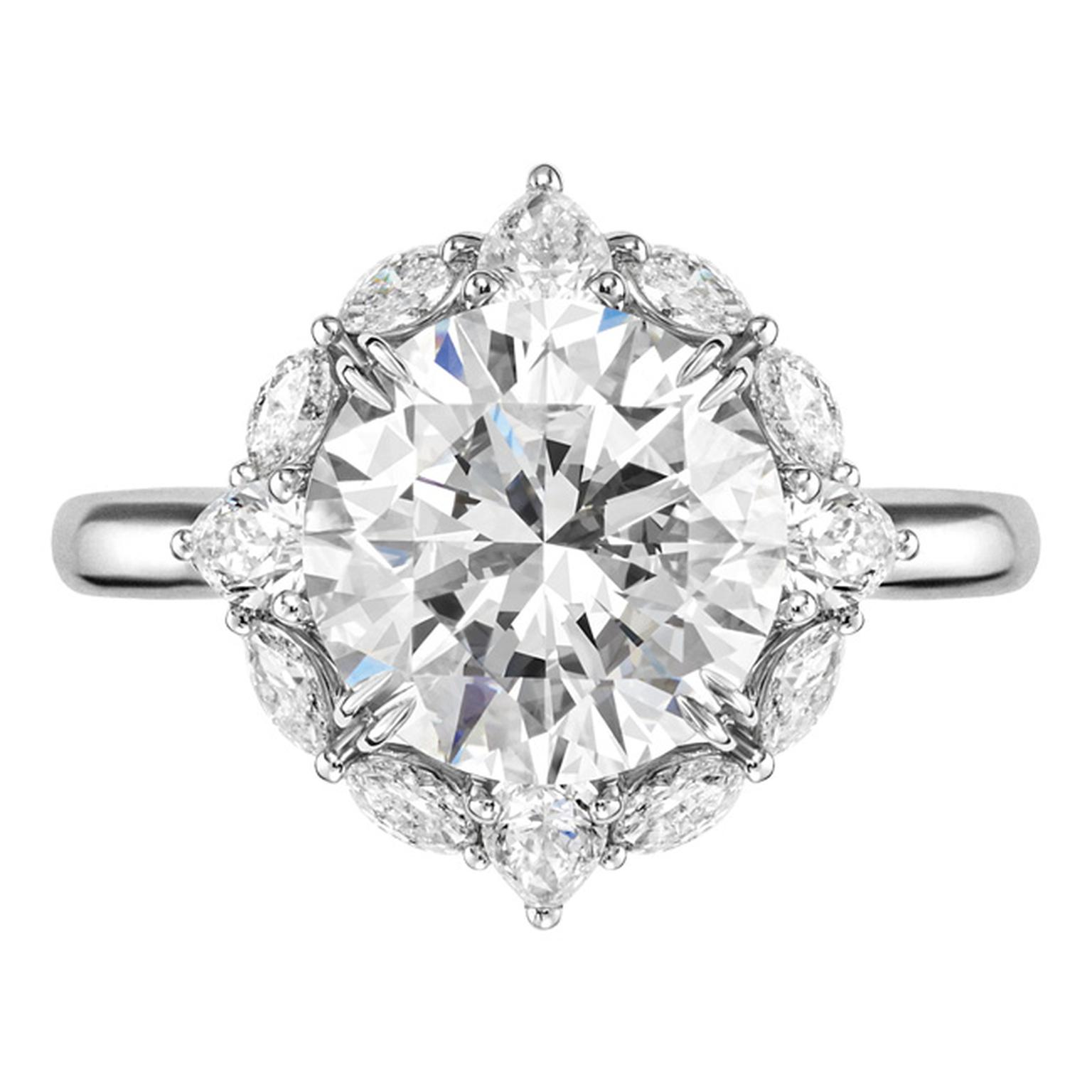 Harry Winston Ultimate Bridal Collection diamond ring_20131017_Main