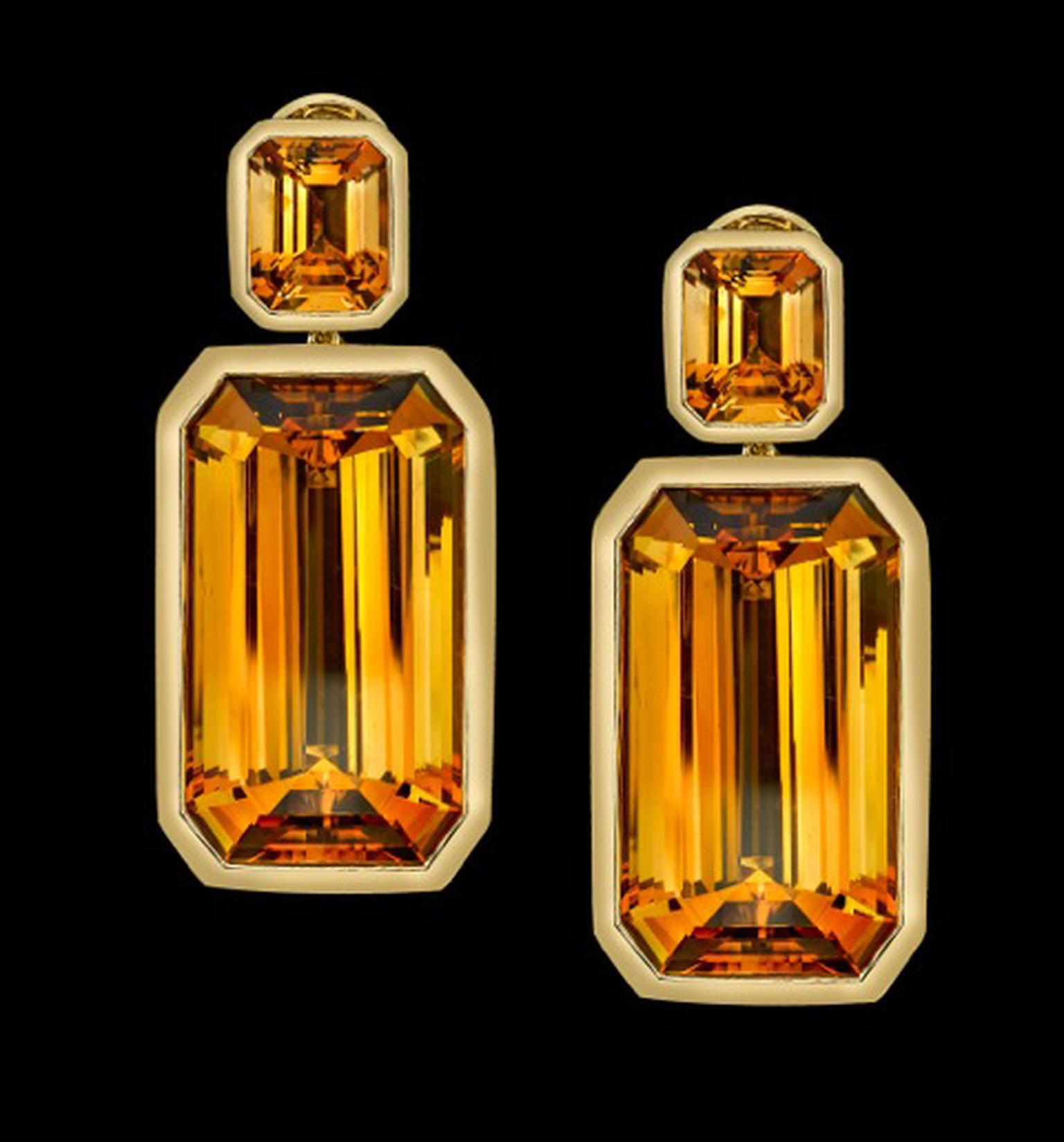 Natural citrine is named after its unusual yellow colour and the rarest of the quartz varieties