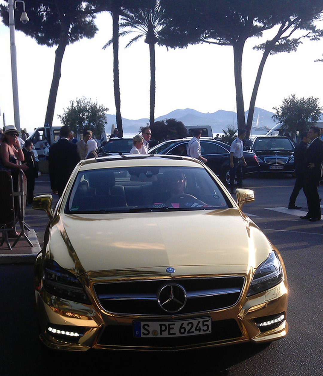 Only-in-Cannes-a-gold-Merc