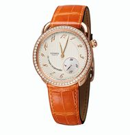 Hermes Arceau Le Temps Suspendu rose gold and diamond watch_20131031_Zoom