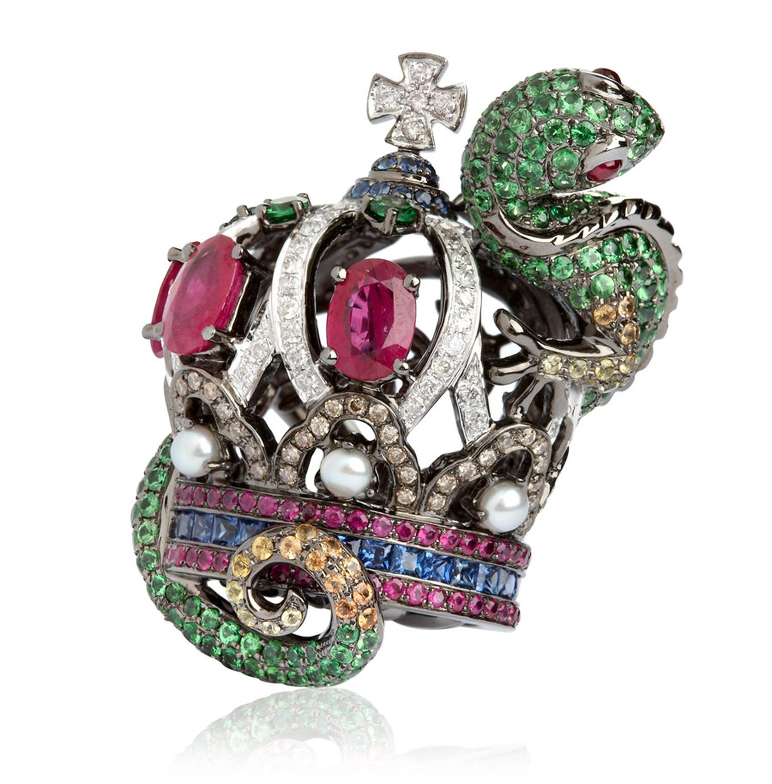 Wendy-Yue-Fantasie-Jubilee-18ct-white-gold diamond sapphire garnet-and-ruby-Lizard-ring-by-Wendy-Yue-for-Annoushka_02a.jpg