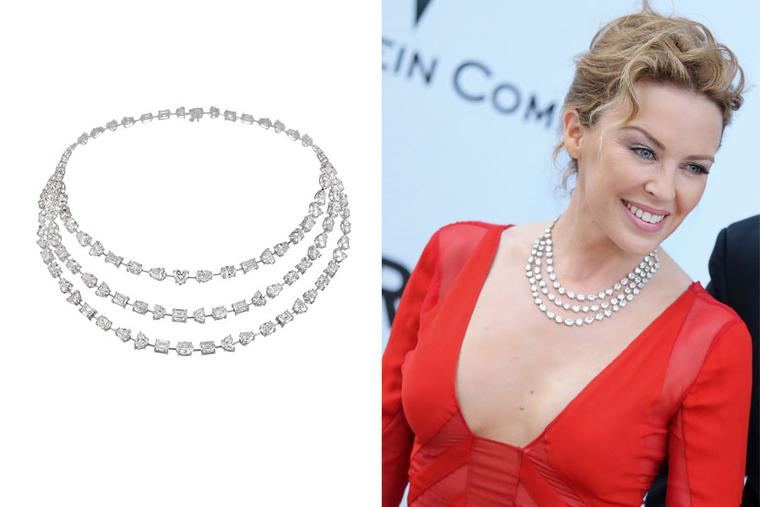 Chopard Red Carpet jewels on the stars at Cannes