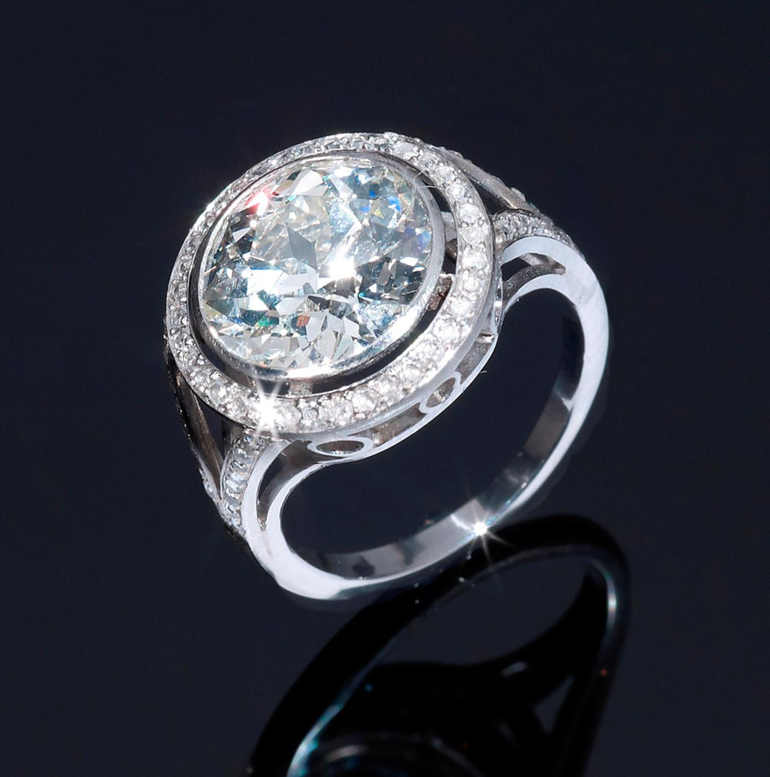 Burlington-Arcade-Hancocks-old-European-brilliant-diamond-ring