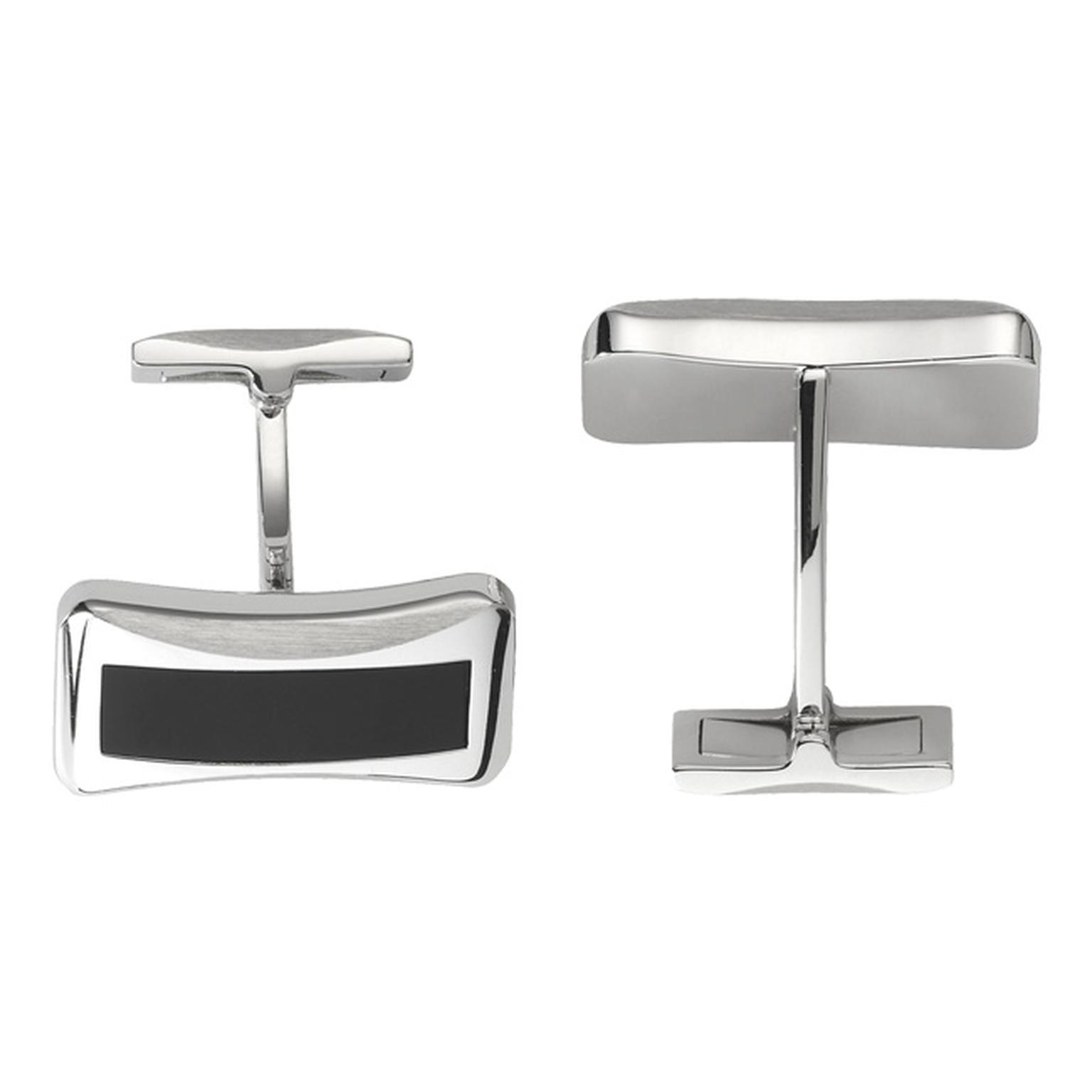 Piaget Emperador Cufflinks in white gold set with Onyx_20131115_Main