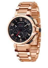 Louis Vuitton Tambour eVolution Chrono GMT rose gold_20131122_Zoom