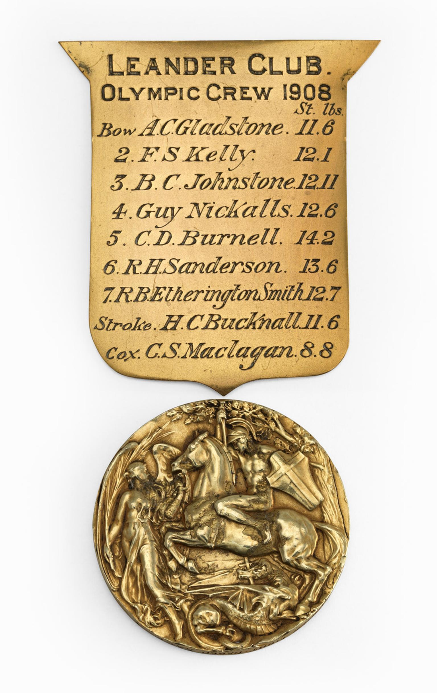 Goldsmiths-Olympic-Gold-Medal-1908