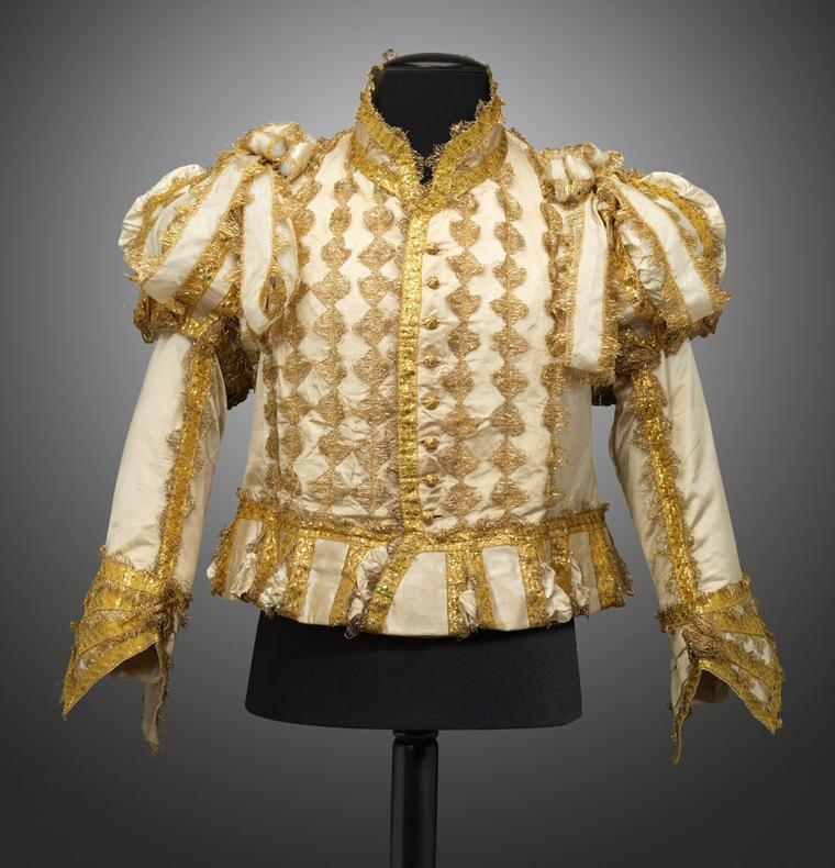 Goldsmiths-Silk-and-gold-jerkin-for-the-coronation-of-George-IV