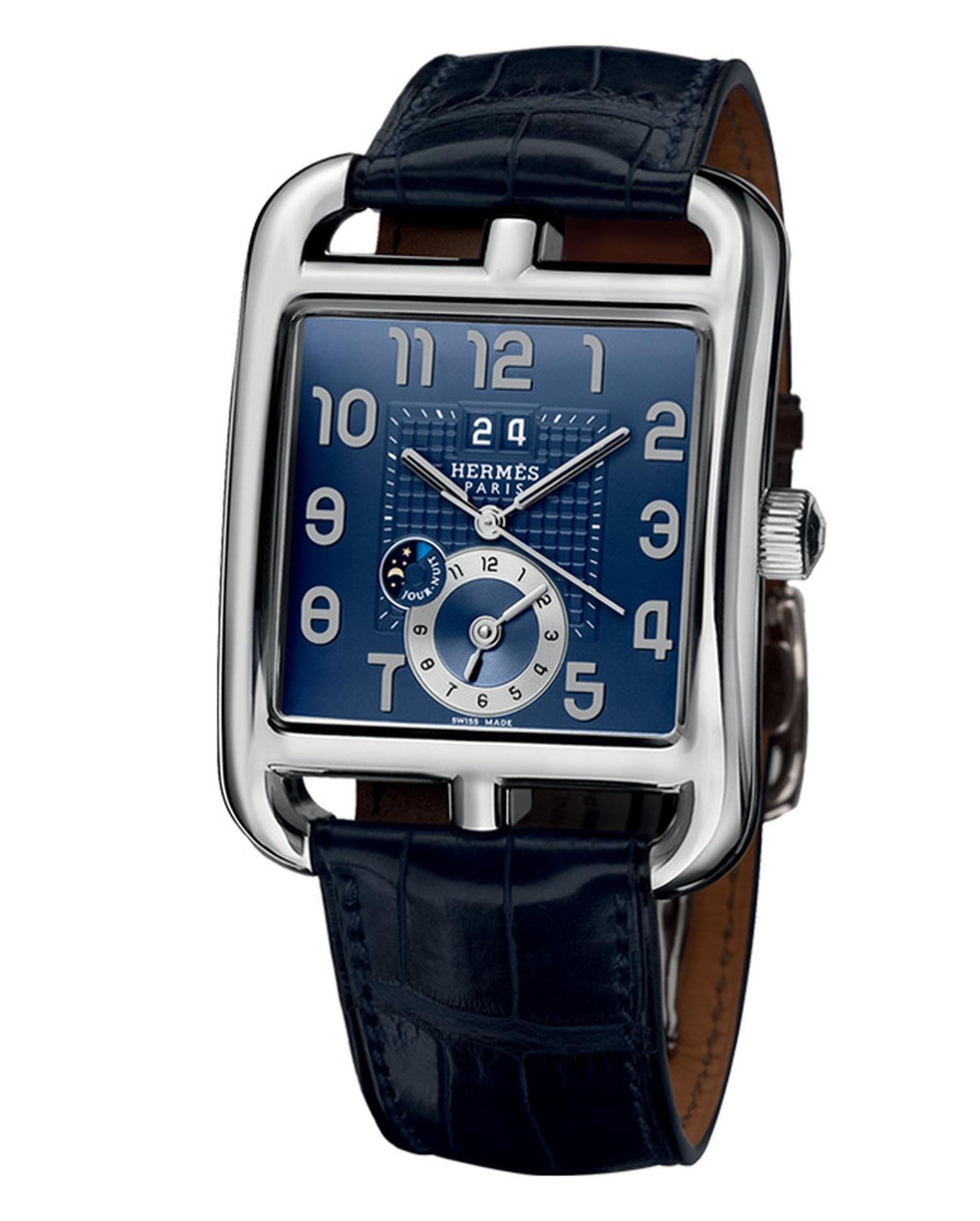 Hermes Cape Cod GMT in steel_20131205_Main