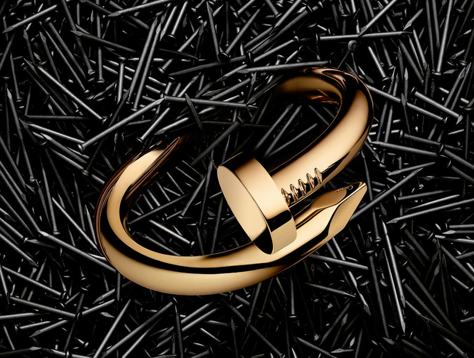Cartier-Juste-un-Clou-large-yellow-gold-braclet