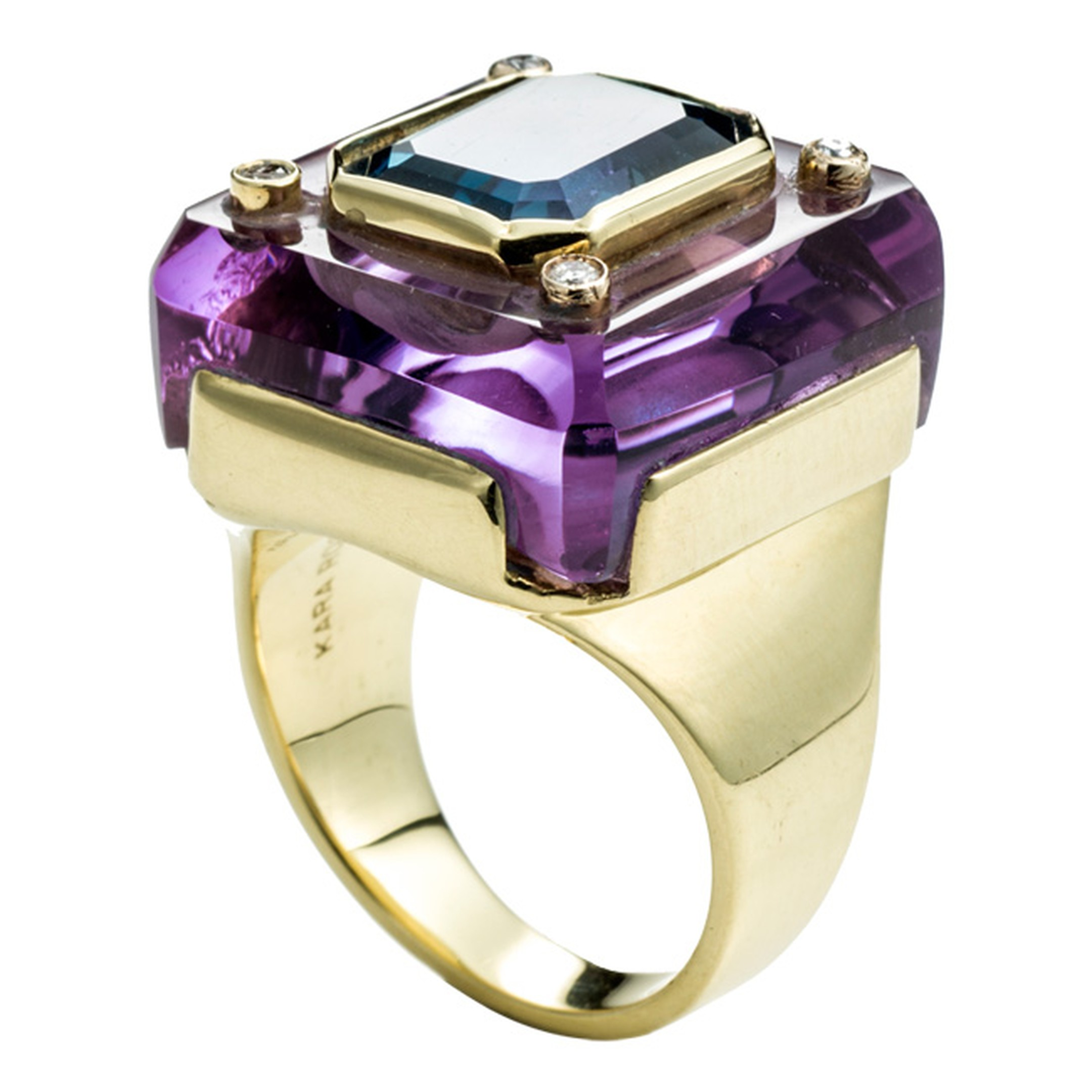 Kara Ross amethyst and blue topaz ring_20140110_Main