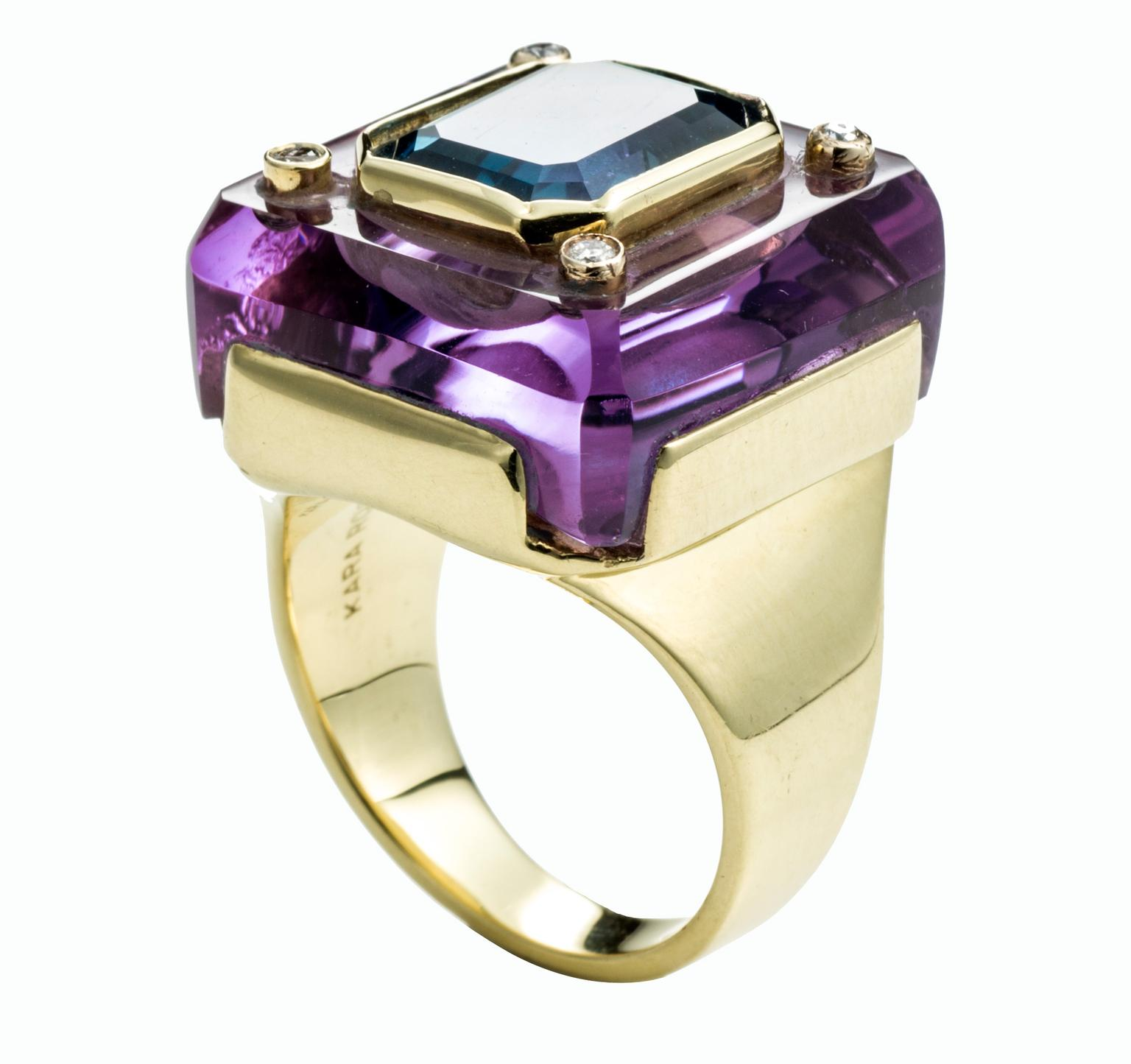 Kara Ross amethyst and blue topaz ring_20140110_Zoom