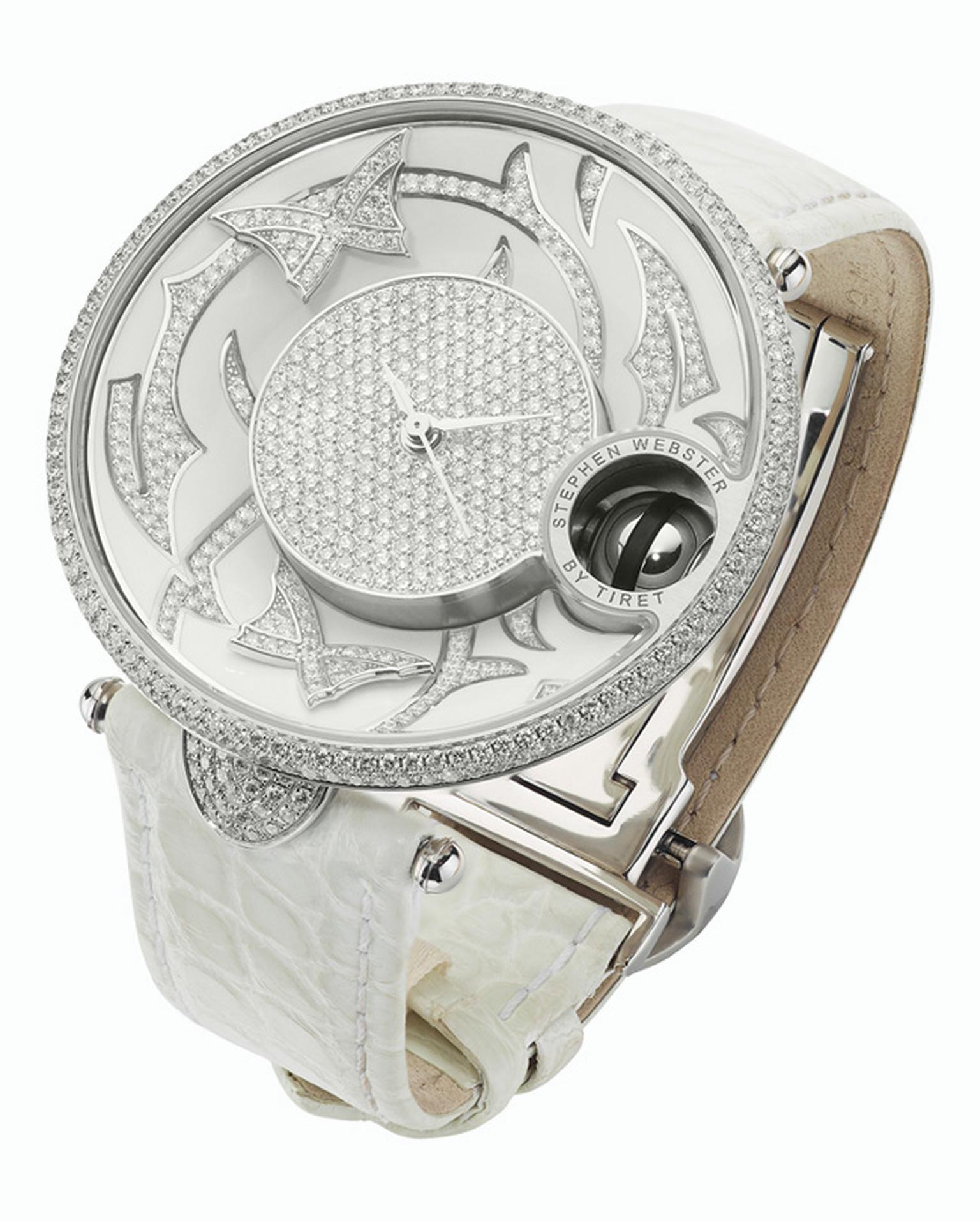 Stephen Webster Fly by Night with Tiret watch with white diamonds_20140110_Main