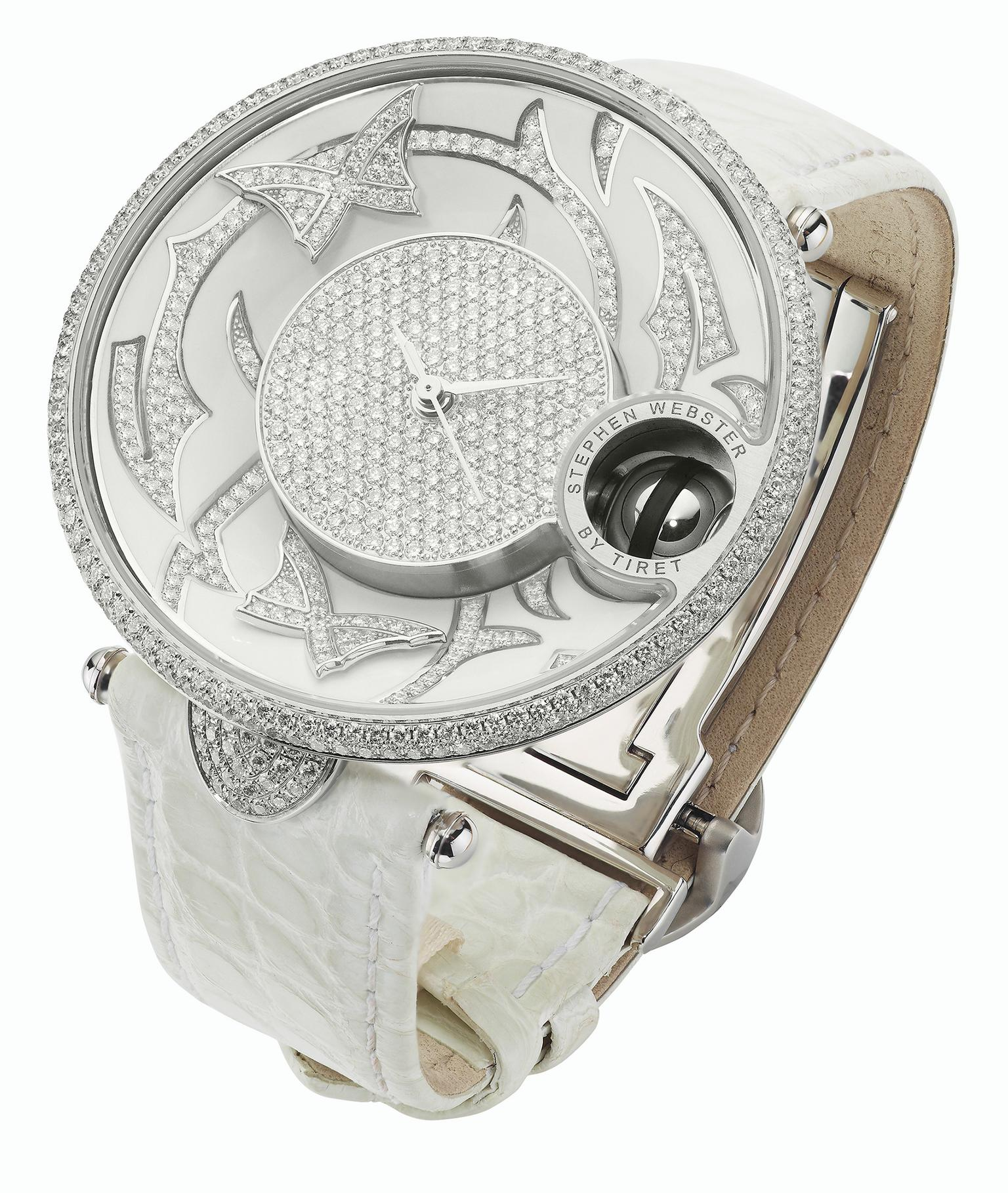 Stephen Webster Fly by Night with Tiret watch with white diamonds_20140110_Zoom