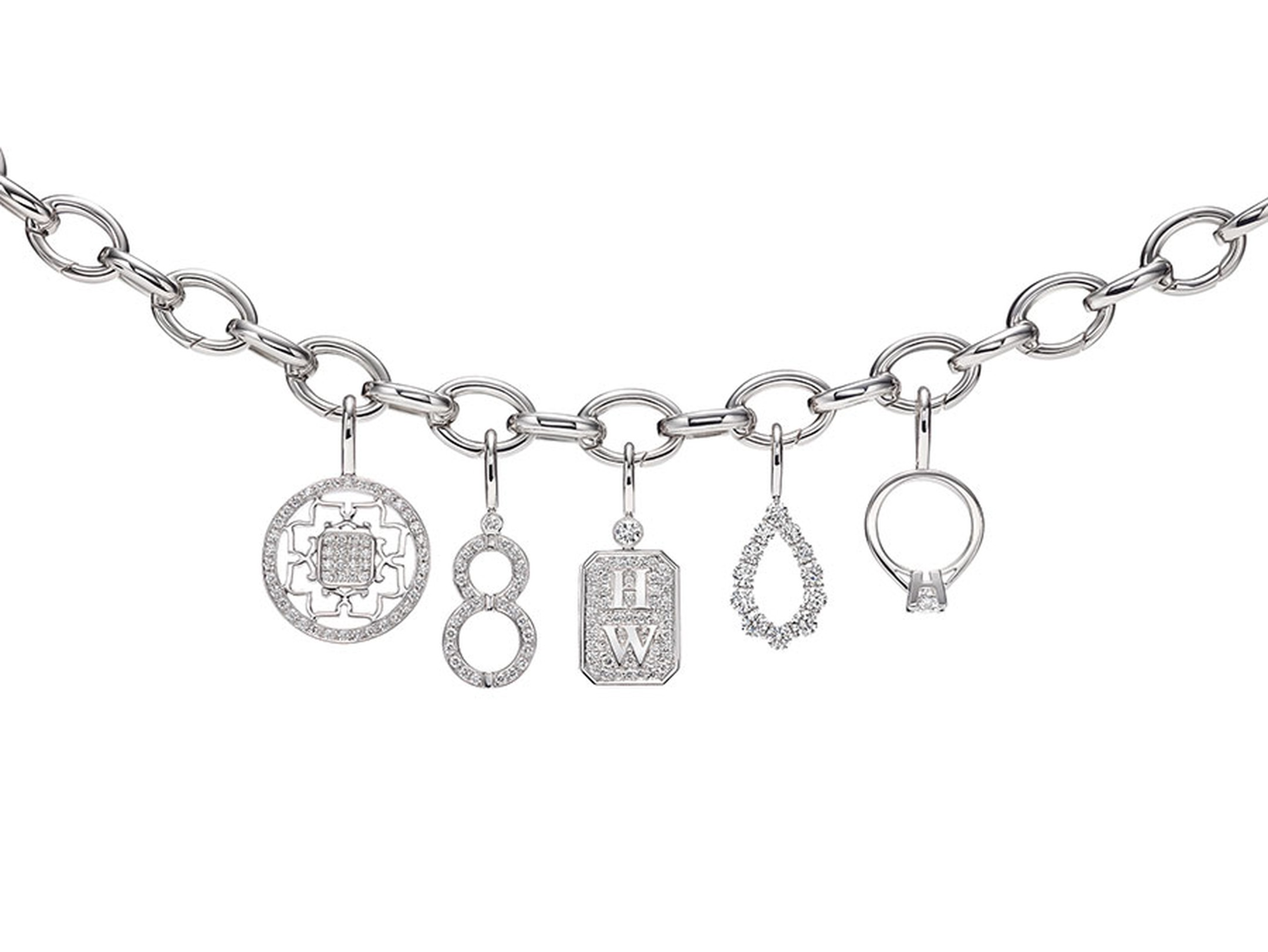 Harry-Winston-Charms-Bracelet-in-Platinum