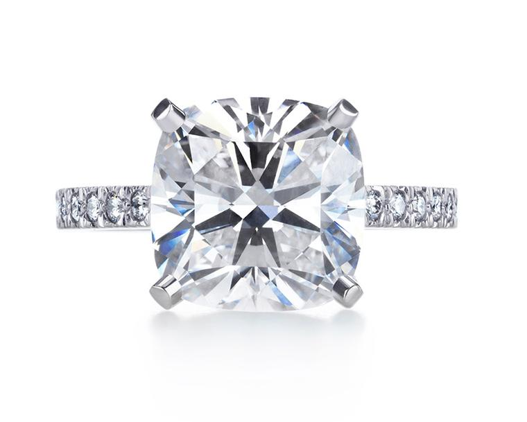 Tiffany & Co Novo diamond engagement ring