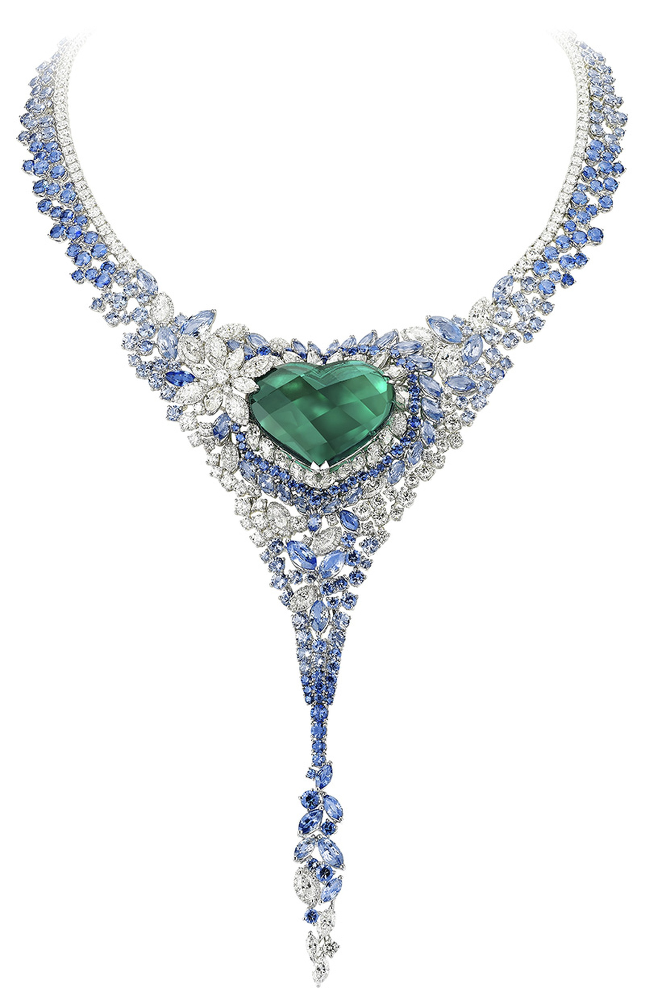 01-Avakian-Heart-shape-emerald-and-sapphire-necklace