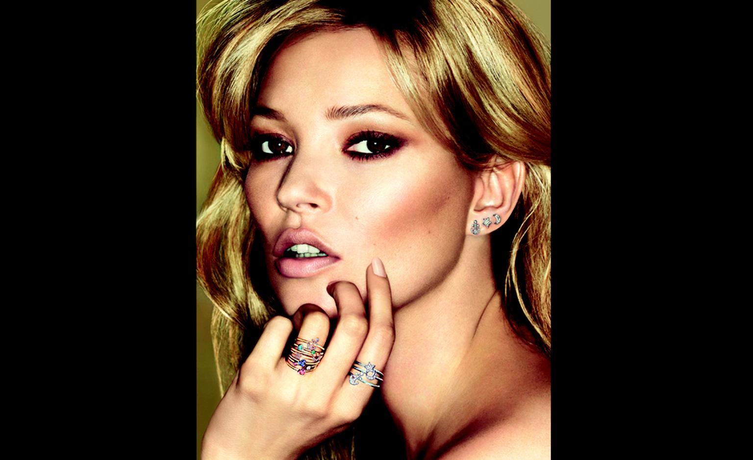 Kate Moss has designed a range of jewels for Fred inspired by her tattoos. set2