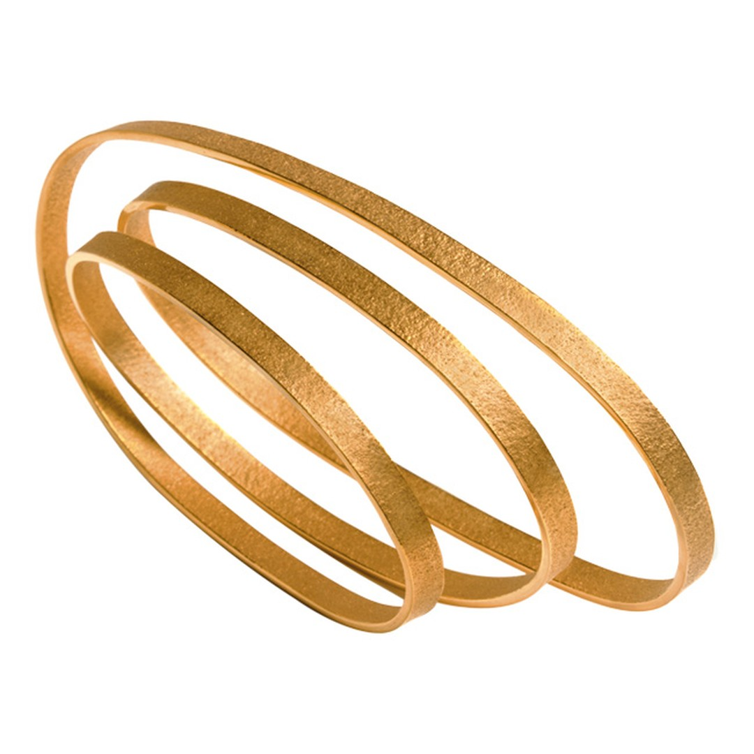 Ute Decker PURE minimalist bracelet in Fairtrade gold_20140131_Main