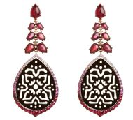 Annoushka-Alhambra-18ct-white-gold-sapphire-diamond-and-ruby-Onyx-earrings
