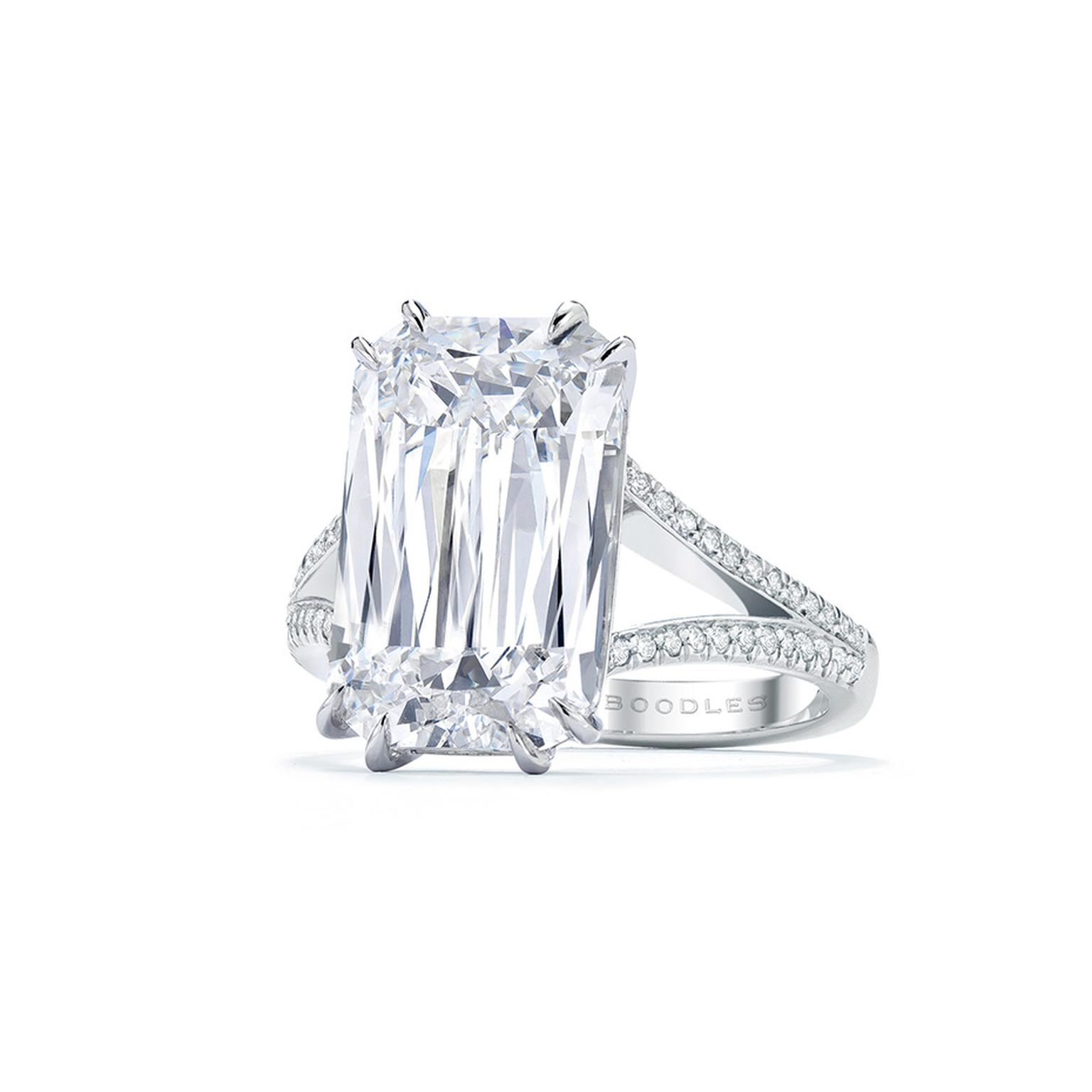 Boodles Ashoka diamond ring