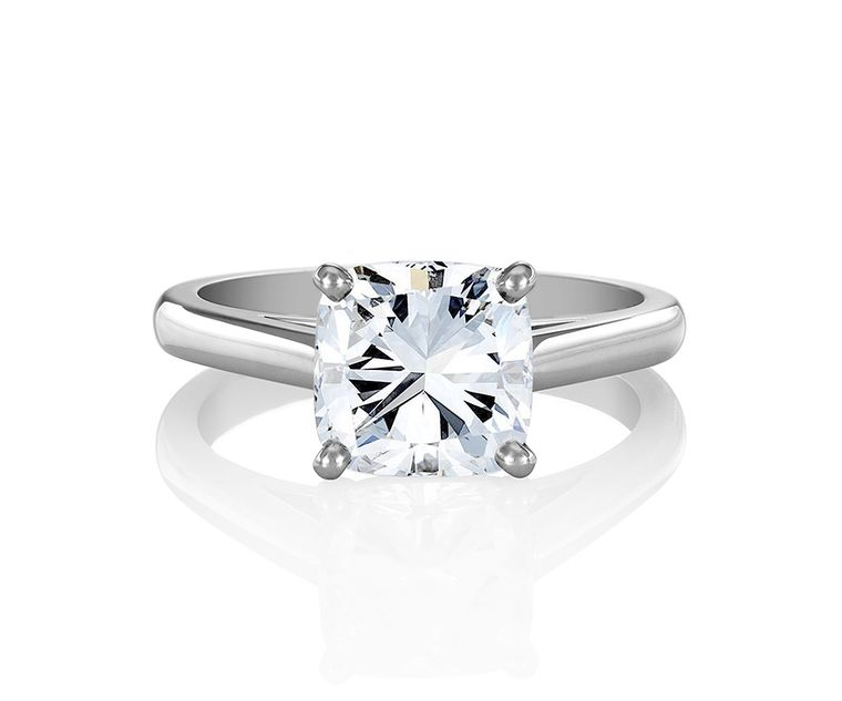 Cushion cut engagement rings the diamond cut that is taking Hollywood by storm