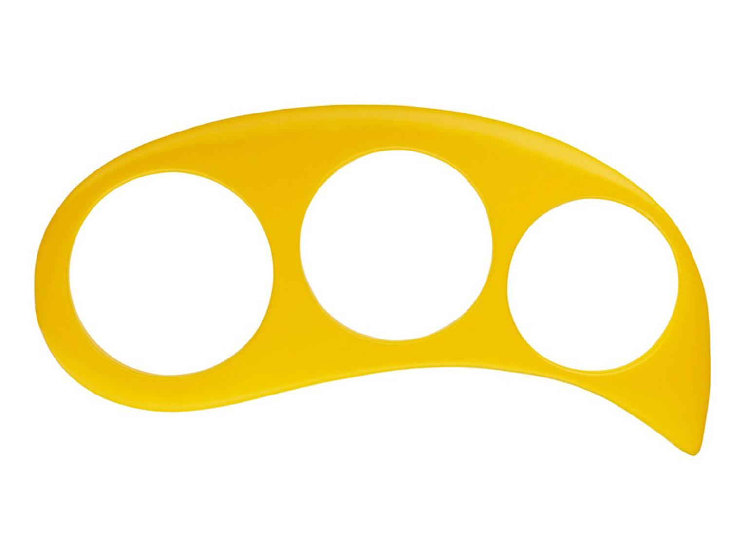 Hannah-Martin-Show_Knife-Edge-Knuckleduster_Yellow