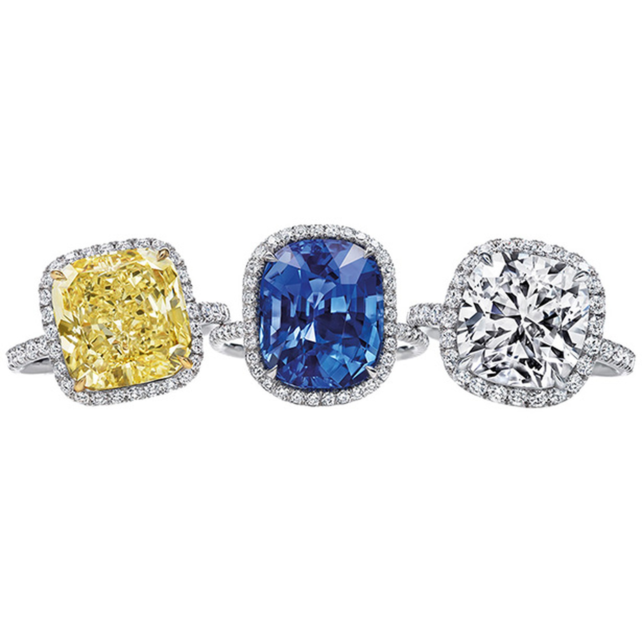 Harry Winston micropave rings