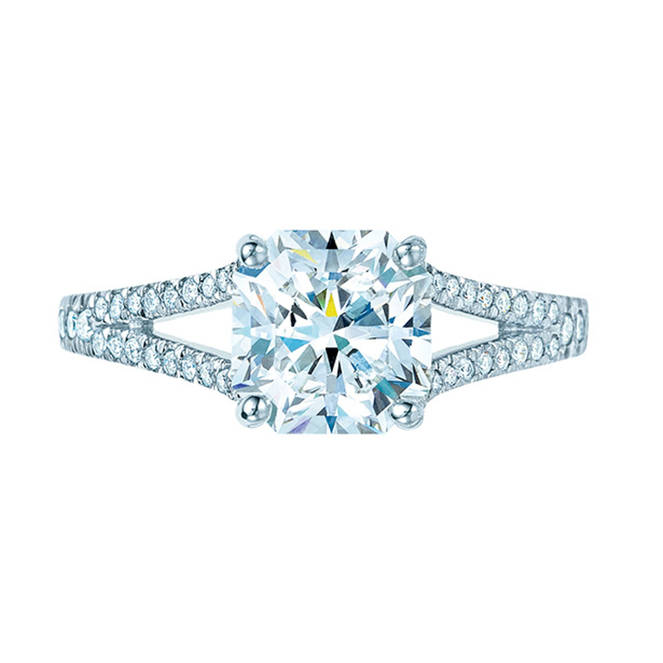 Tiffany Lucida solitaire diamond engagement ring