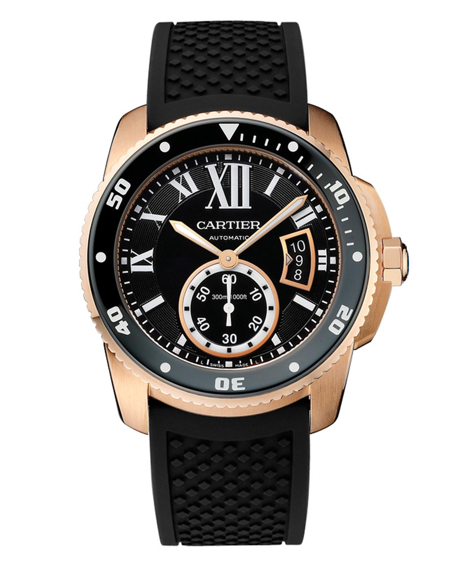 Cartier Calibre de Cartier Diver in rose gold_20140305_Main