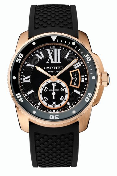 Cartier Calibre de Cartier Diver in rose gold_20140305_Zoom
