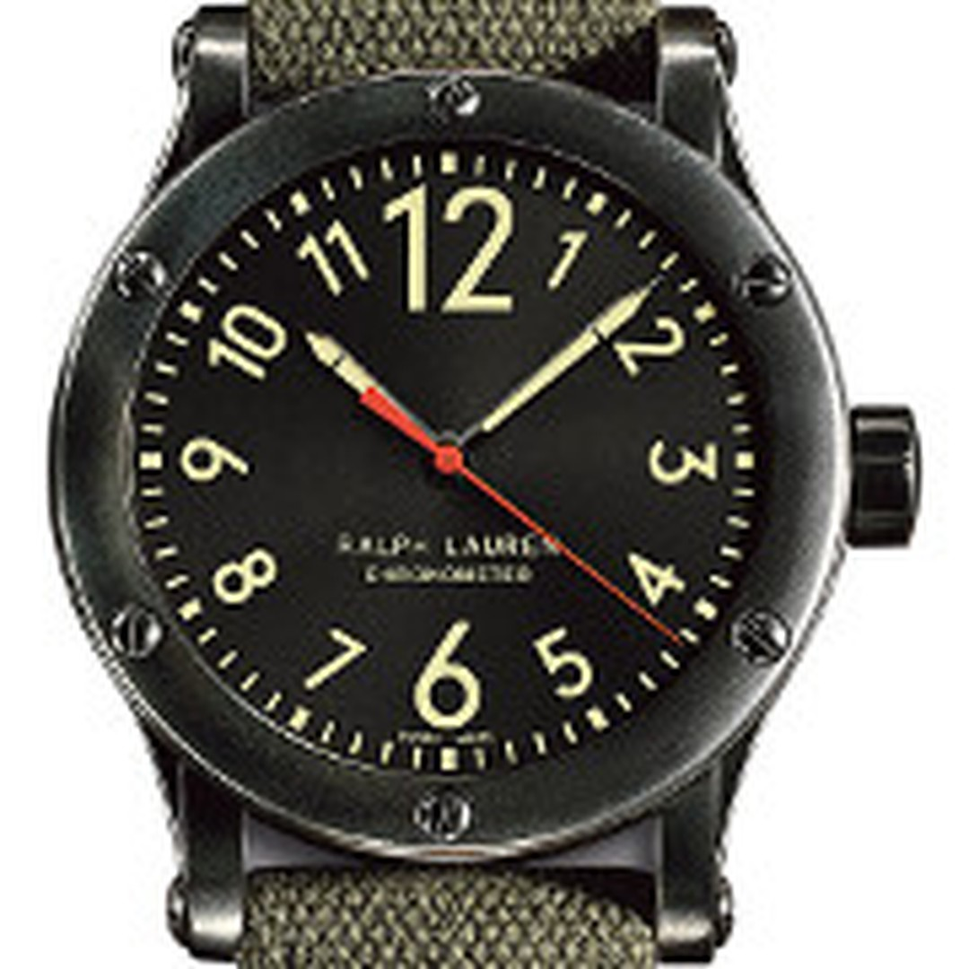 Ralph Lauren Safari men's watch