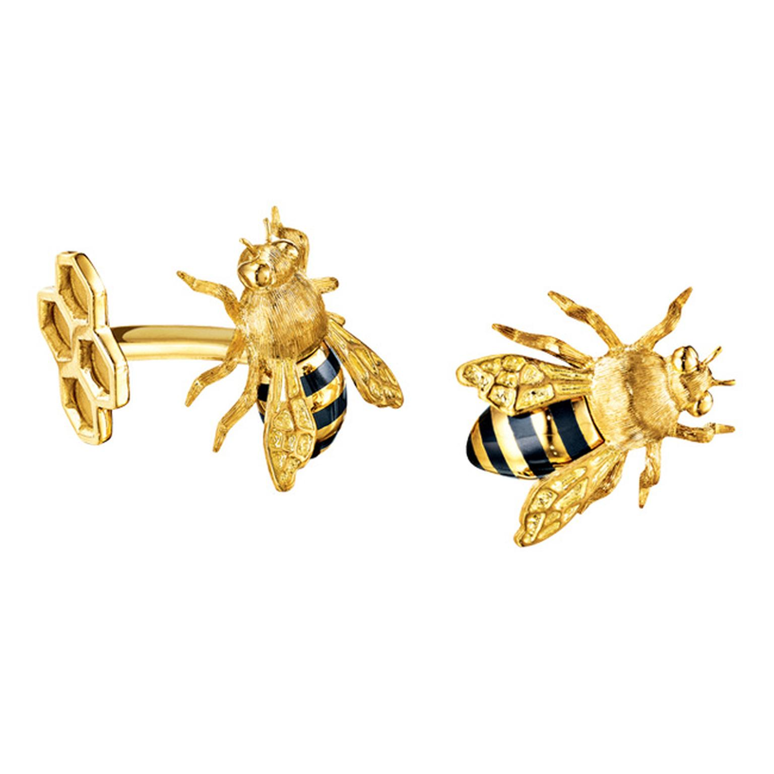 Verdura Bee Cufflinks_20140325_Main