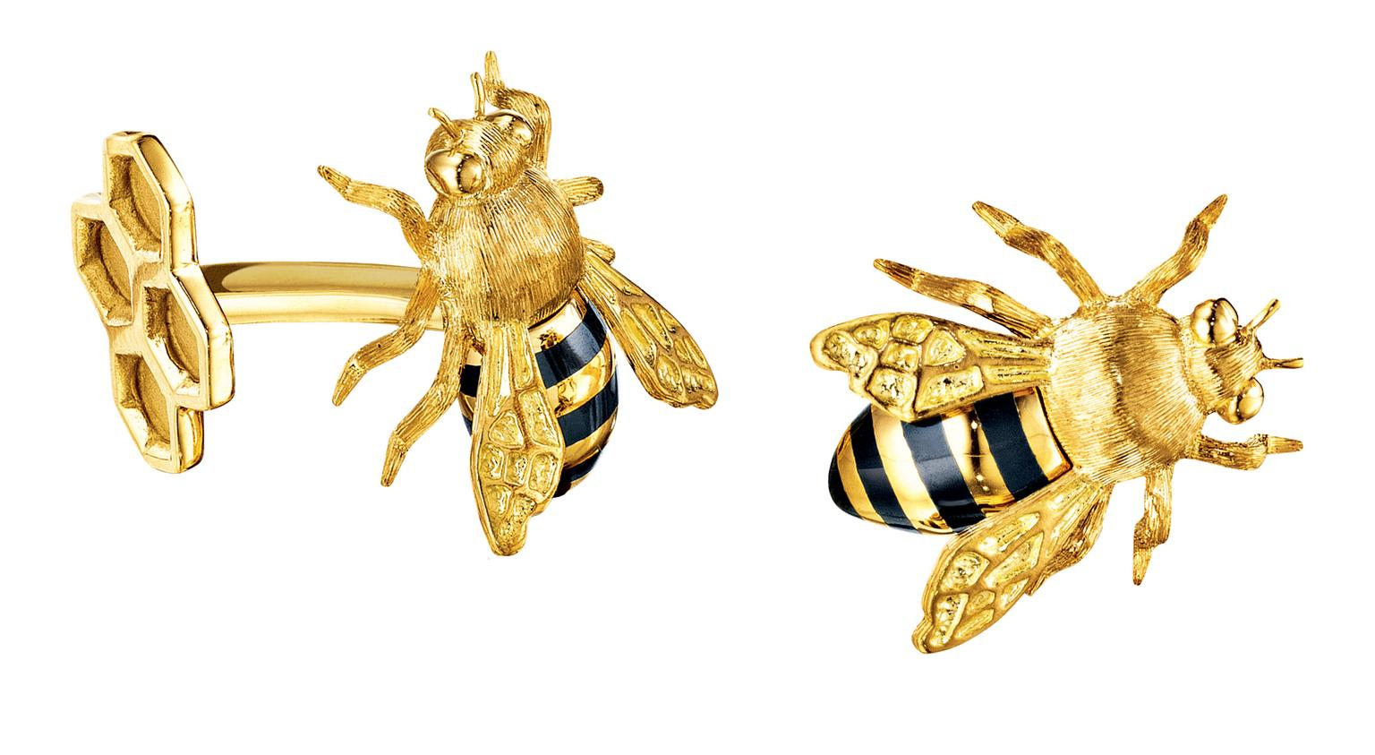 Verdura Bee Cufflinks_20140325_Zoom