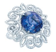 Tanzanite jewellery: its rich blue hues ranging from ultramarine to light purple make tanzanite a highly desirable gemstone