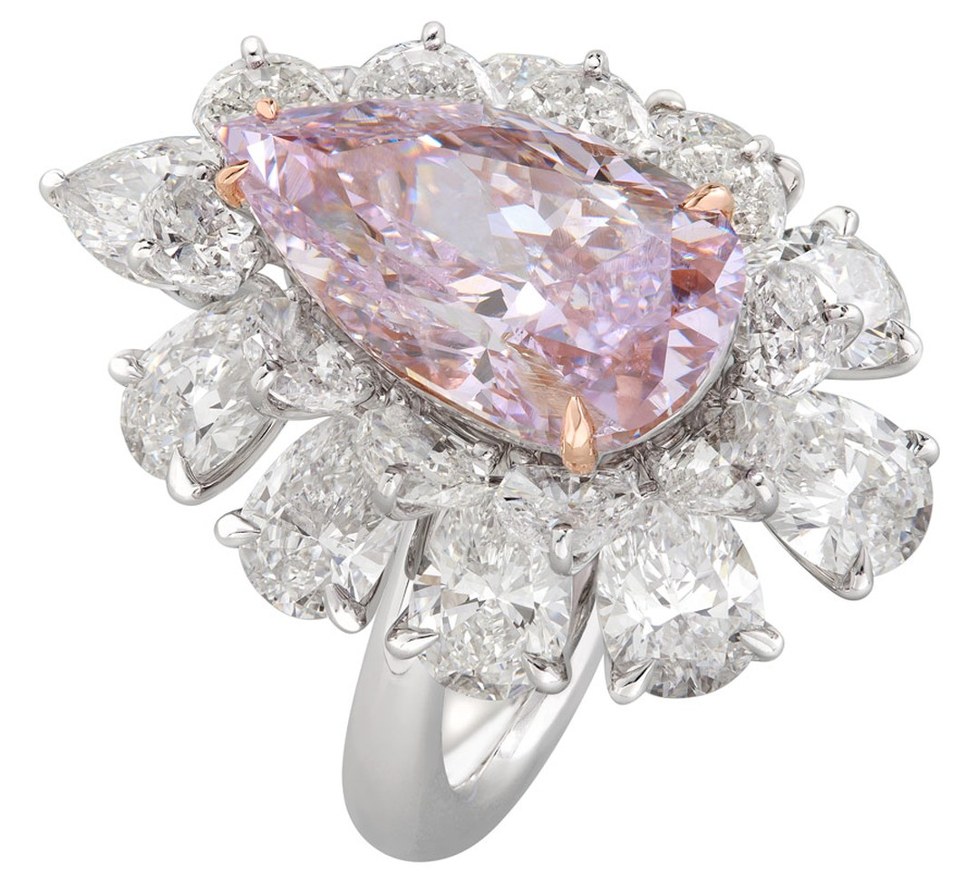 Nirav-Modi-Pink-Purple-Pear-Ring