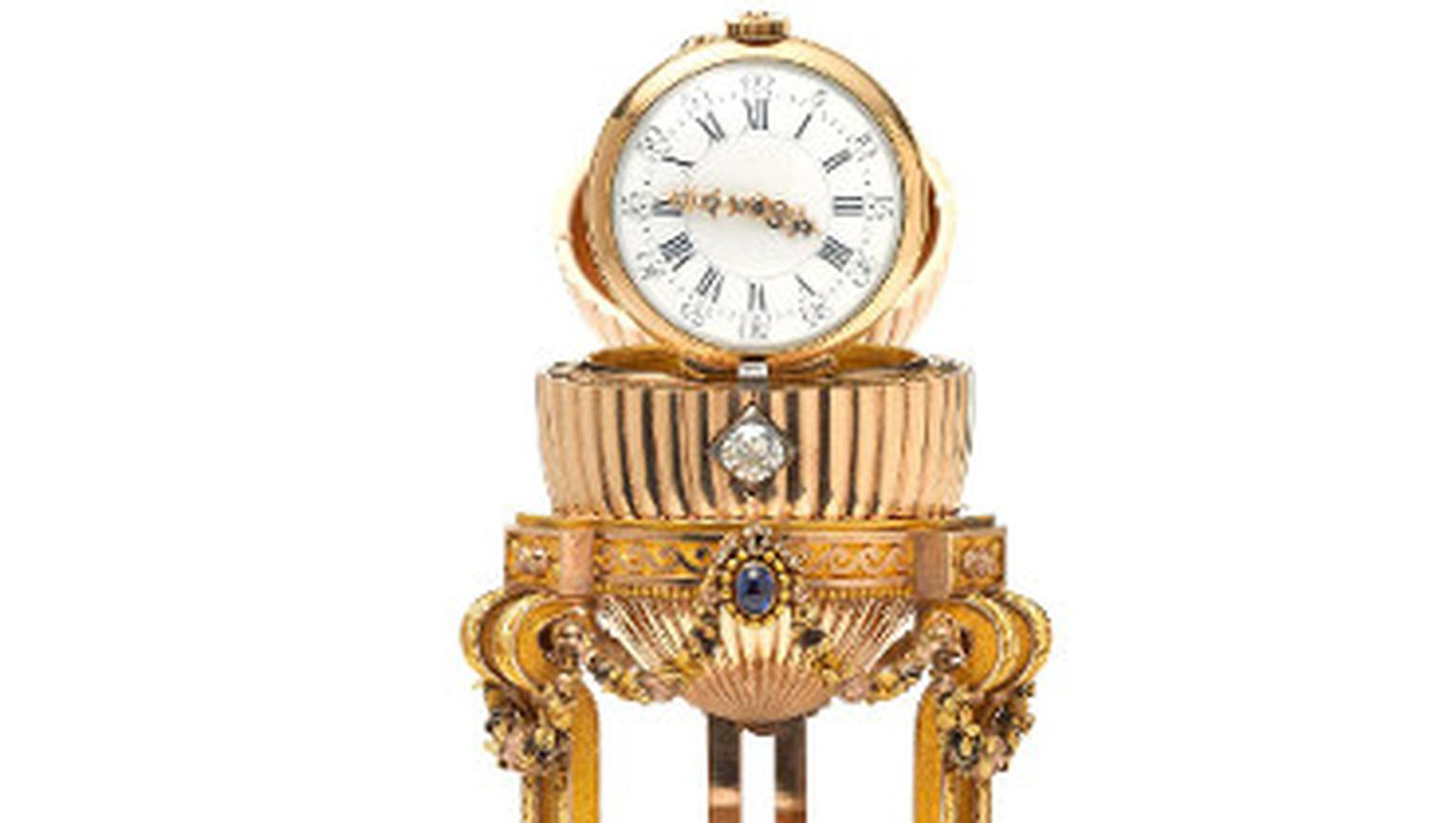 Faberge Lost Egg at Wartski Jewellers