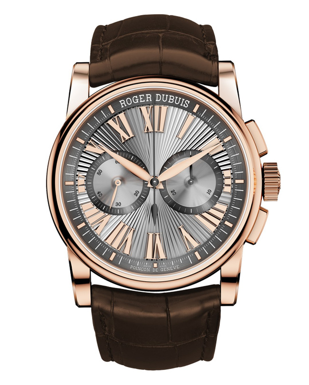Roger Dubuis Hommage Chronograph in pink gold_20140408_Main
