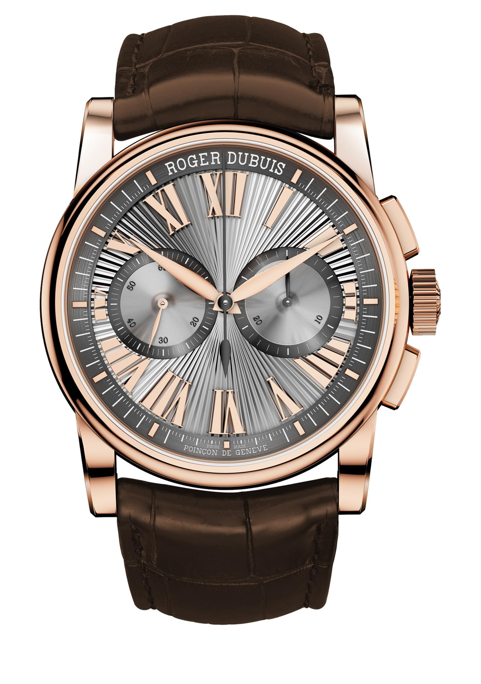Roger Dubuis Hommage Chronograph in pink gold_20140408_Zoom