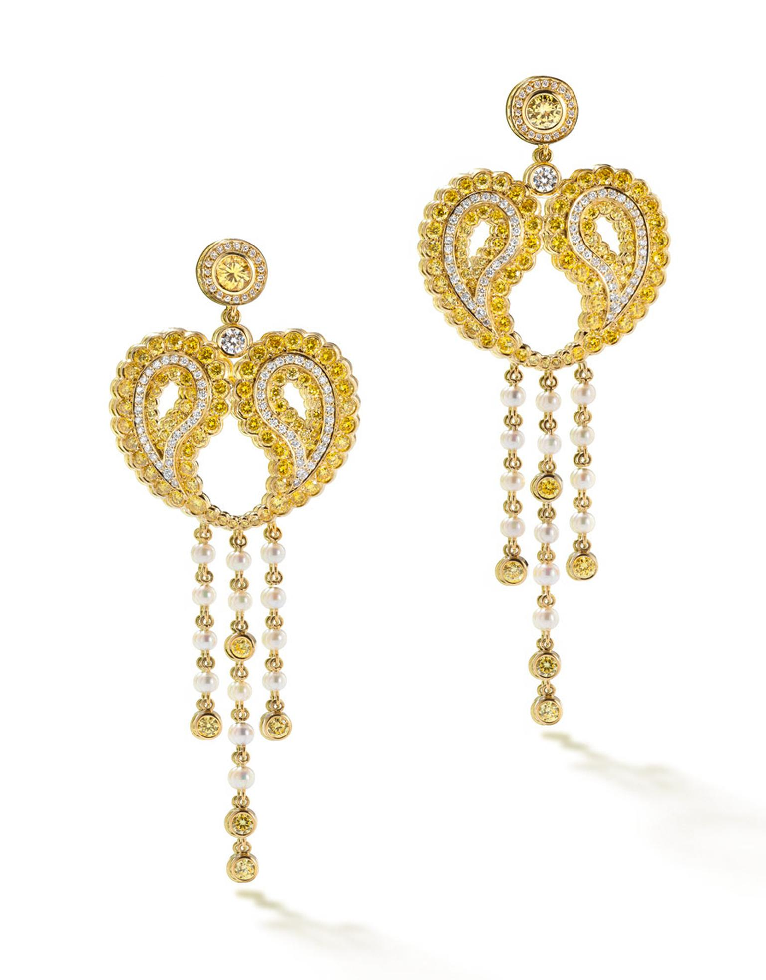 boodles-wonderland-Paisley-yellow-earrings