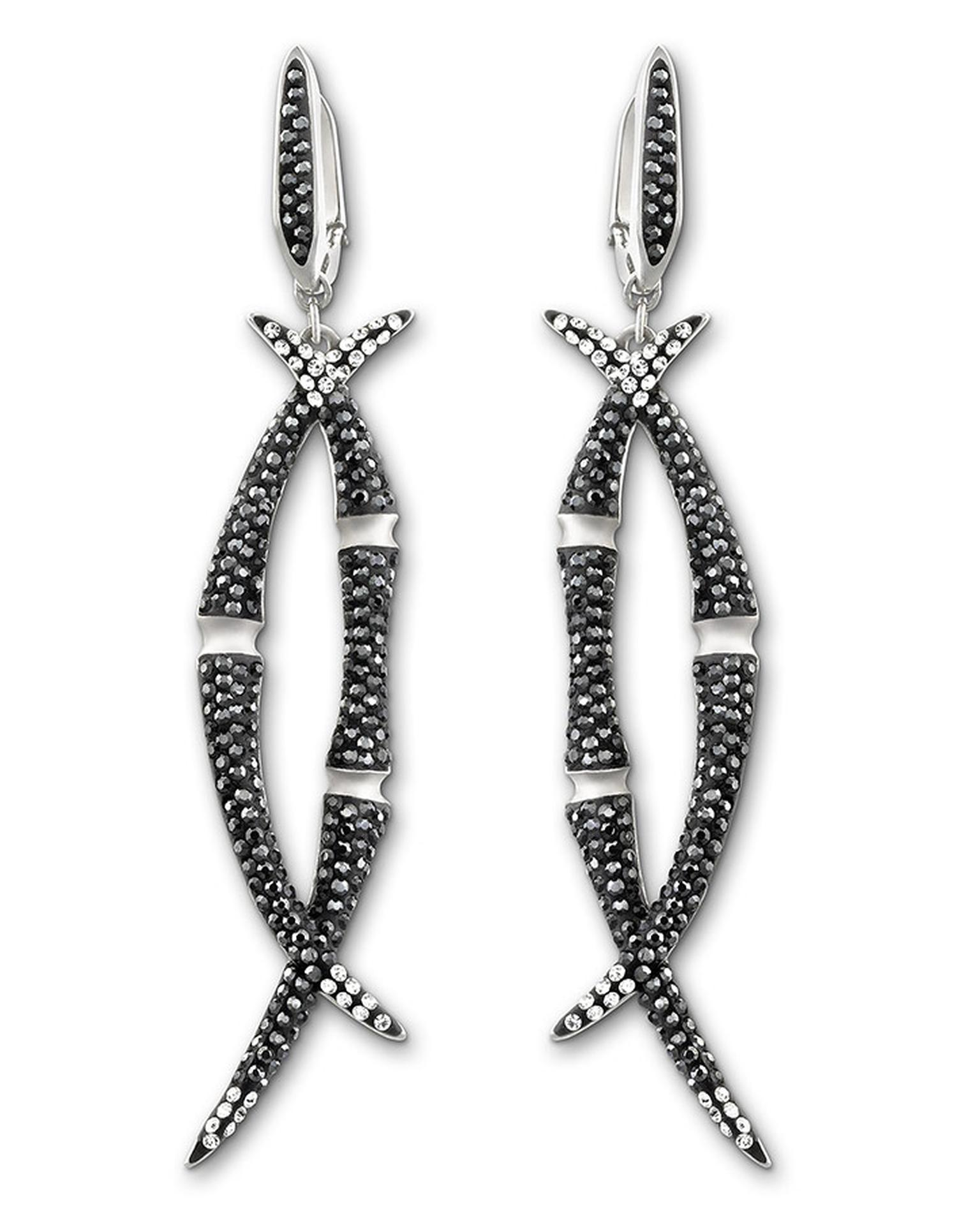 Stephen-Webster-Black-Bamboo-pierced-earrings
