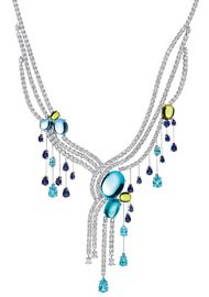 Harry Winston shines bright blue at the Biennale