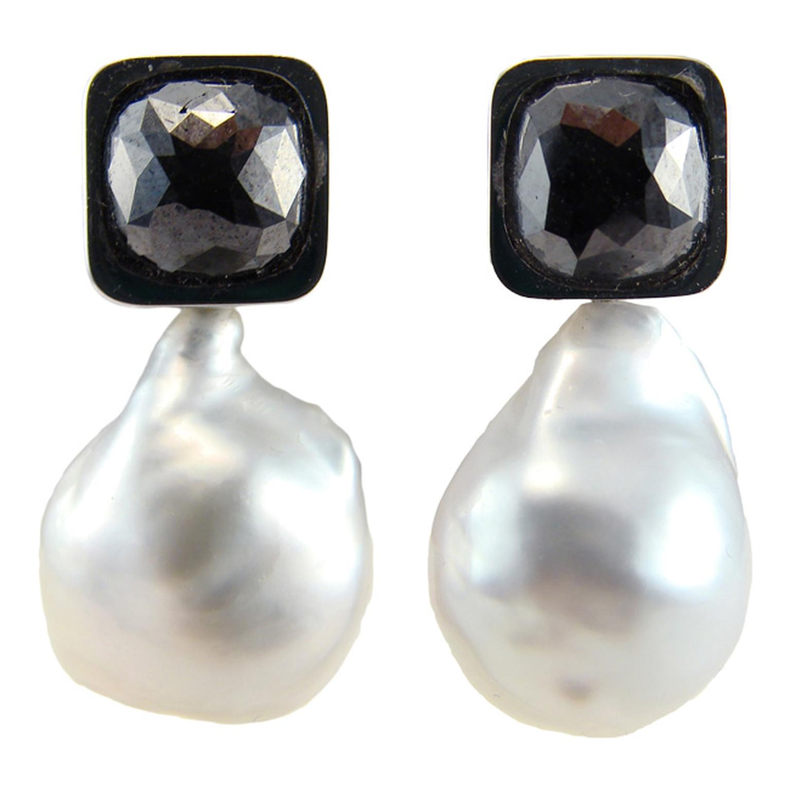 Corrado-Guispino-Black-Diamond-and-Pearl-Earrings_20140424_Main