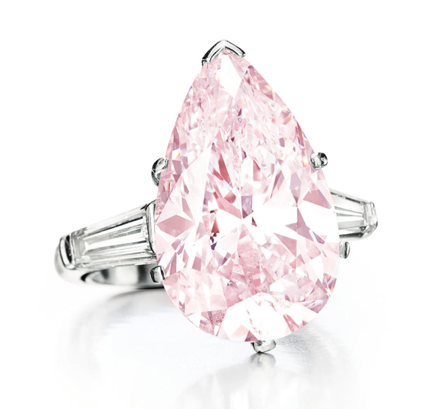 pin set pink light a cut radiant ring rings and diamond with